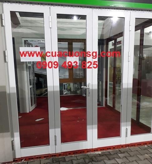 Cửa nhôm Xingfa mở hất màu trắng
