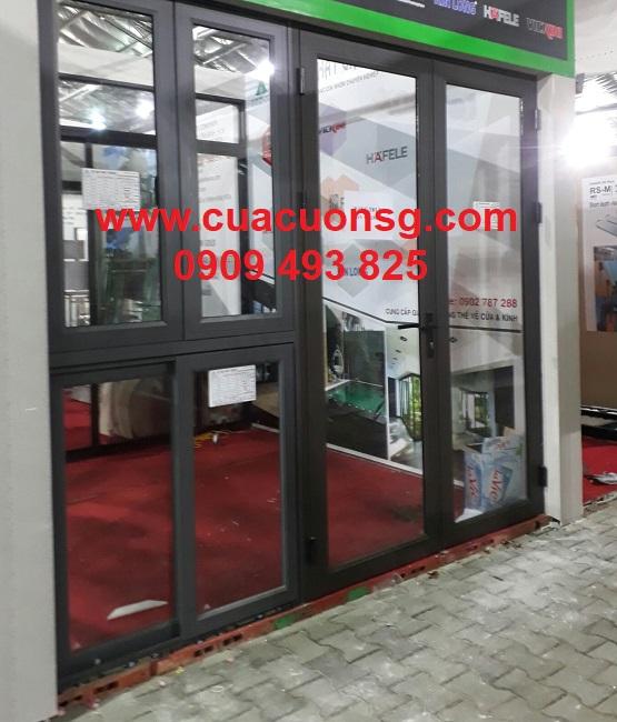 Cửa sổ và cửa chính nhôm Xingfa mở cánh