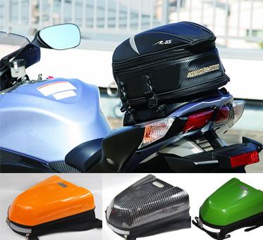 Các loại thùng, túi tiện ích phượt cho moto