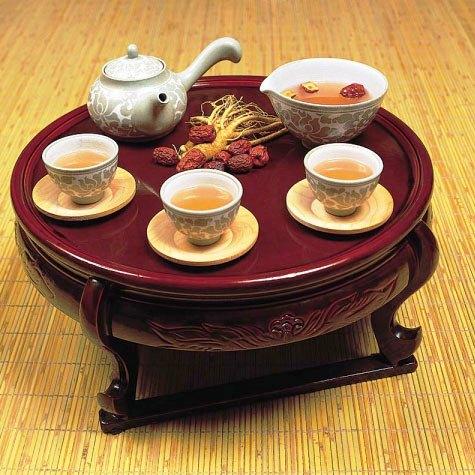 trà hồng sâm nhân sâm hàn quốc 6 năm tuổi