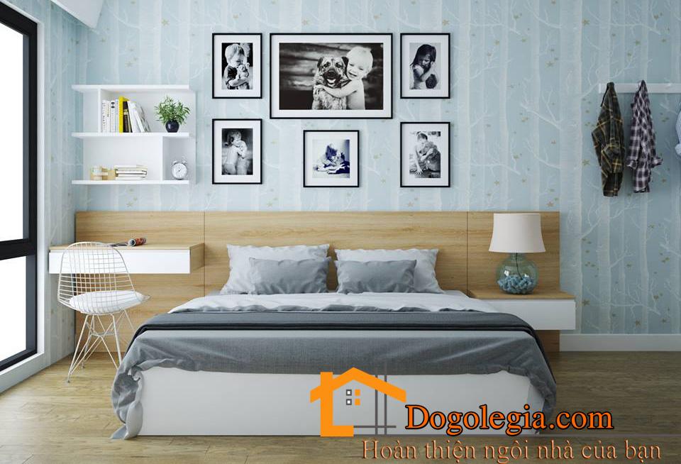 mẫu giường gỗ đẹp