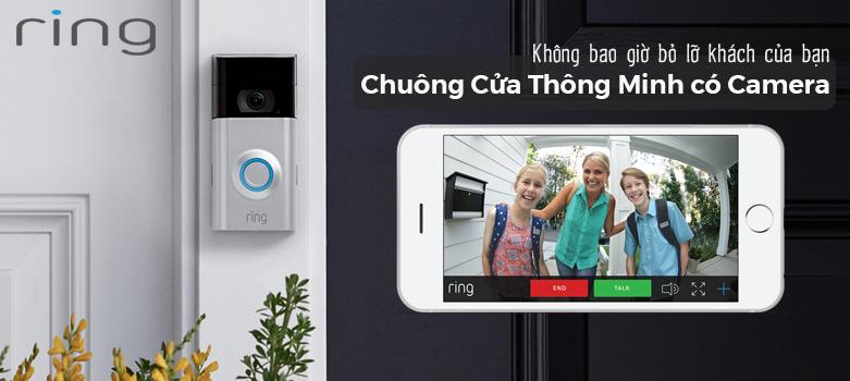 Chuông cửa có camera Ring Video Doorbell 2