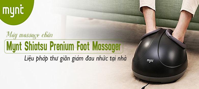 Máy massage chân Mynt Shiatsu Foot Massager