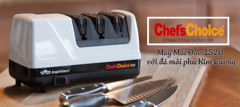 Máy mài dao cao cấp Chef's Choice 1520 AngleSelect Diamond Hone