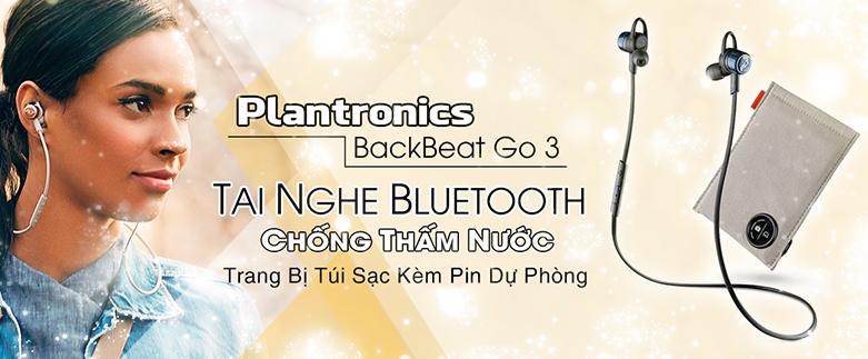 Tai nghe bluetooth Plantronics BackBeat Go 3 - kèm Case sạc