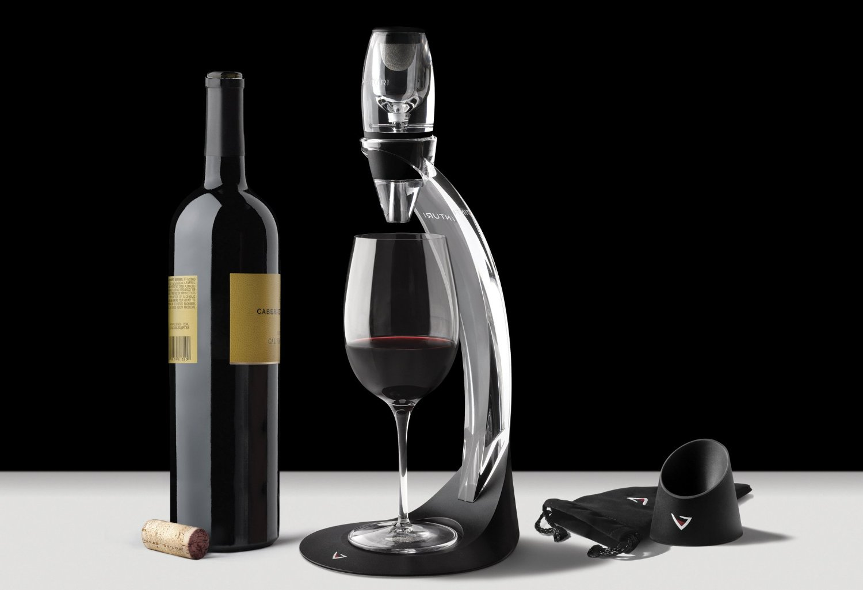 Bộ lọc rượu vang sang trọng Vinturi Deluxe Red Wine Aerator Set