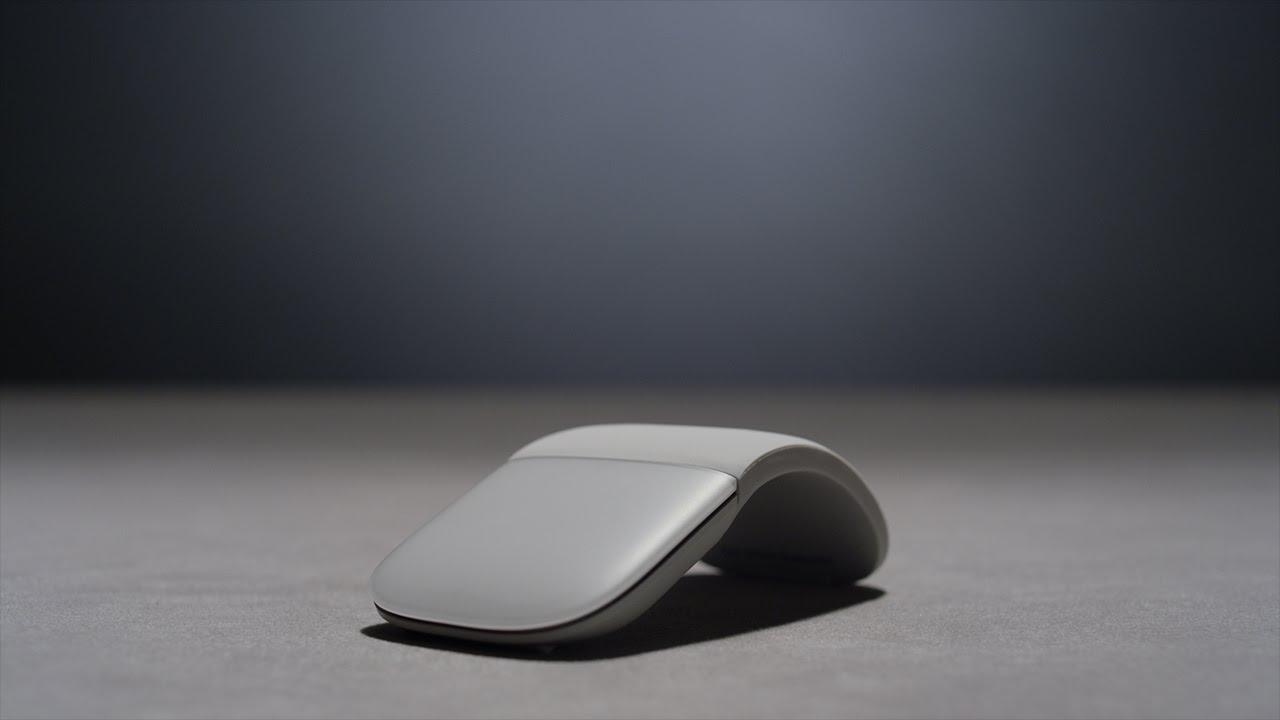 Chuột máy tính Microsoft Surface Arc Mouse - với Bluetooth Smart 4.0