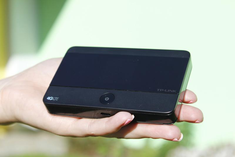 Bộ phát Wifi di động từ sim 3G, 4G: TP-Link M7350 - 2 băng tần 2.4GHz & 5GHz