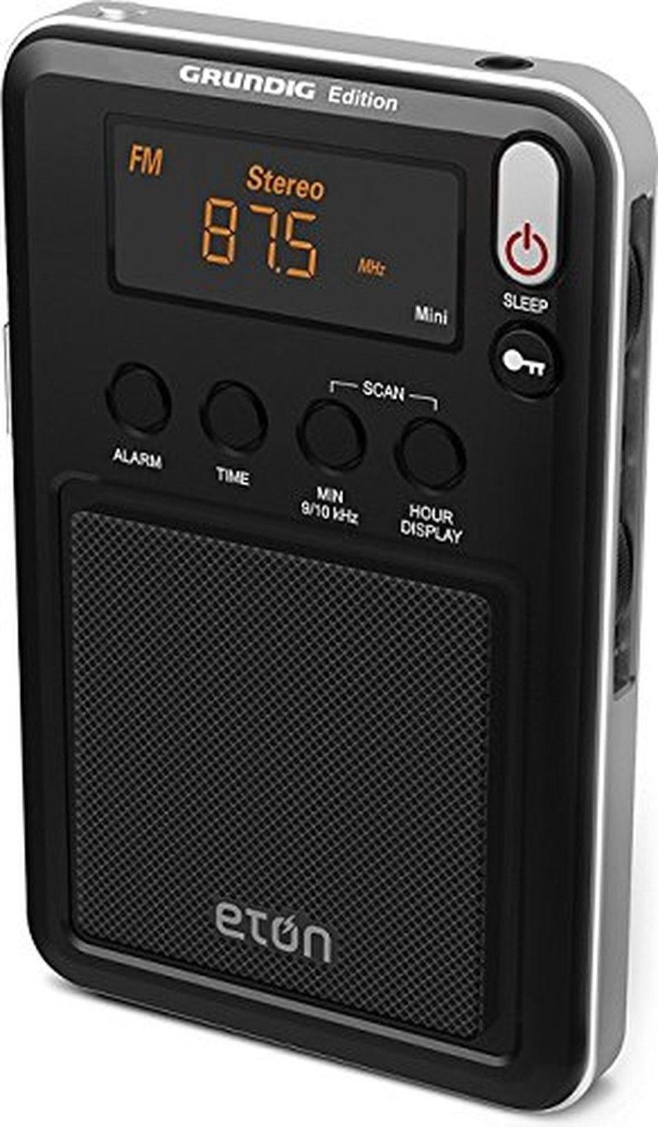 Đài radio cầm tay Grundig Edition Mini - AM/FM/Shortwave