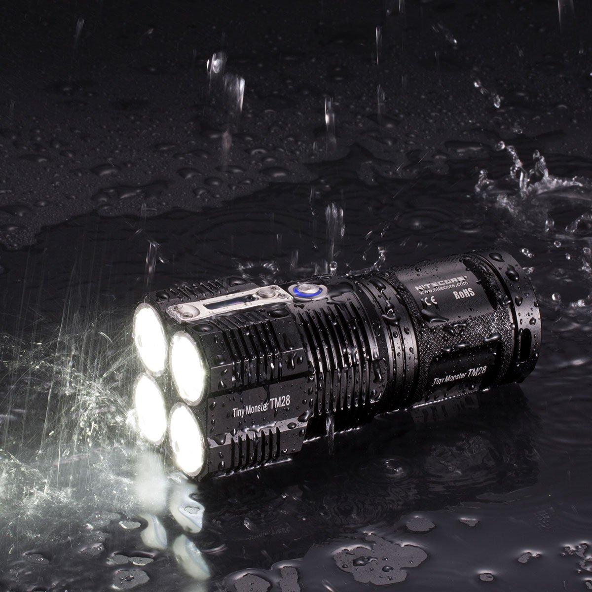 Đèn pin siêu sáng Nitecore TM28 - 6000 lumens