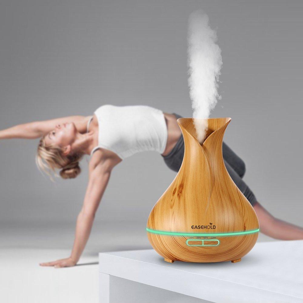 Bình phun sương khuếch tán tinh dầu Easehold Aroma Essential Oil Diffuser Humidifer