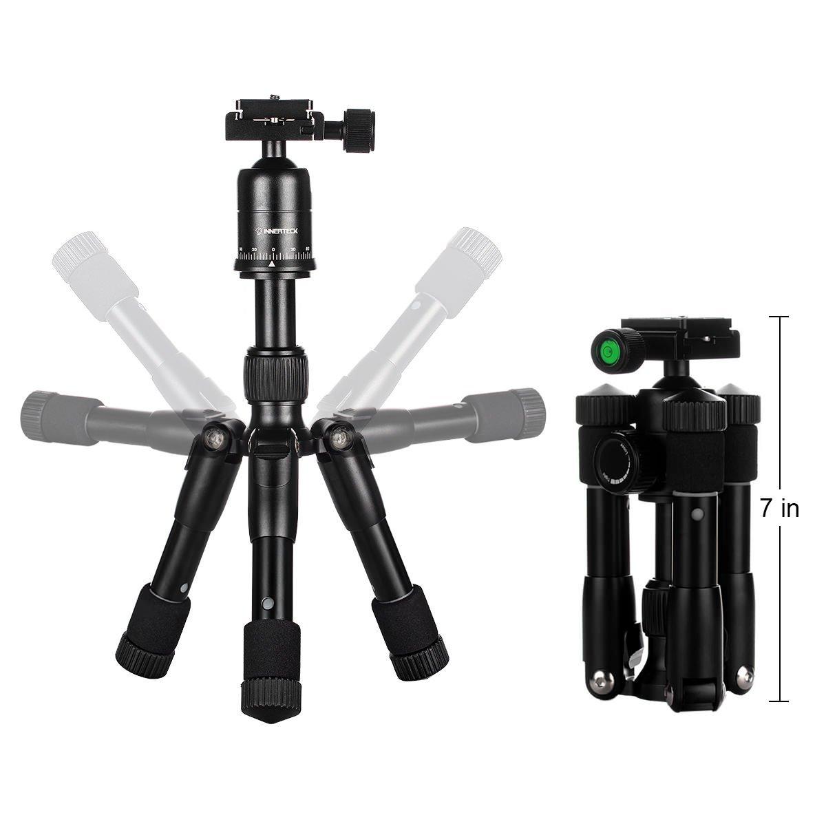 Chân máy ảnh Innerteck Mini Tripod - dùng cho cả máy ảnh DLSR