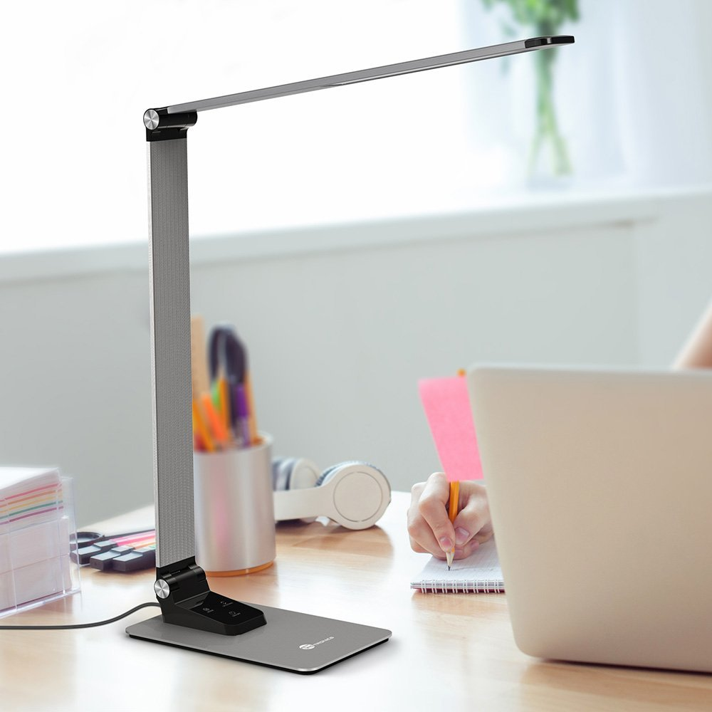 Đèn bàn đọc sách TaoTronics TT-DL17 Metal LED Desk Lamp