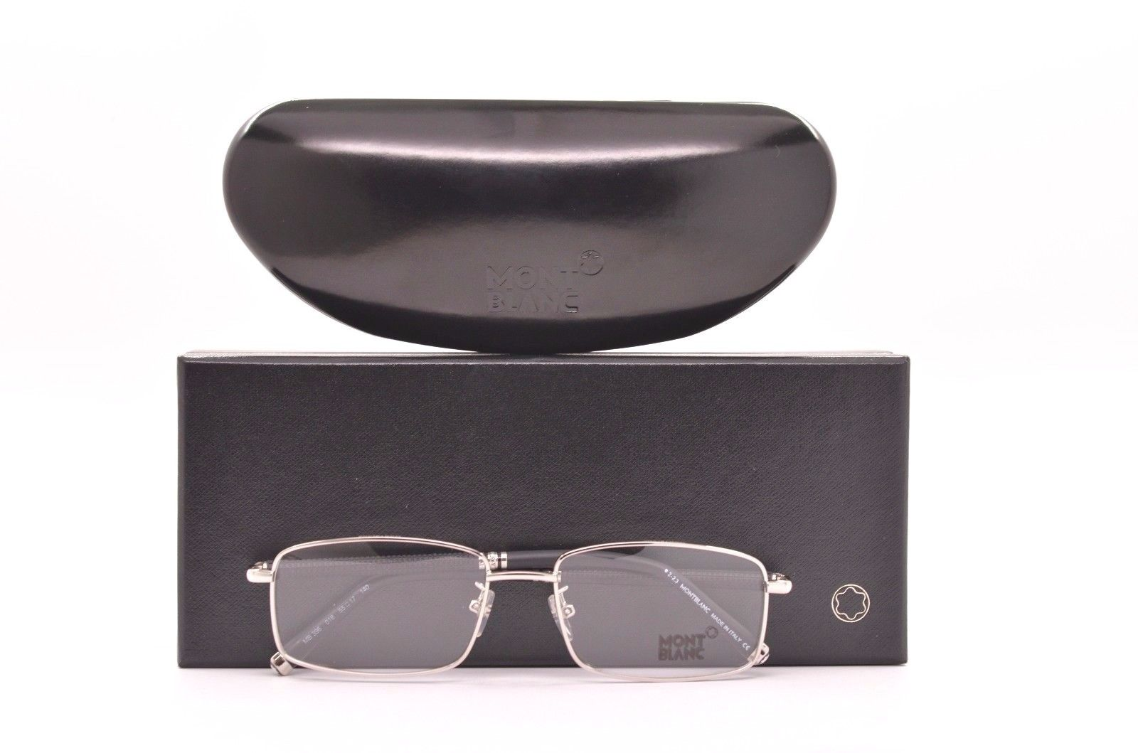 Kính mắt MontBlanc Eyewear, Shiny Palladium MB 396 016