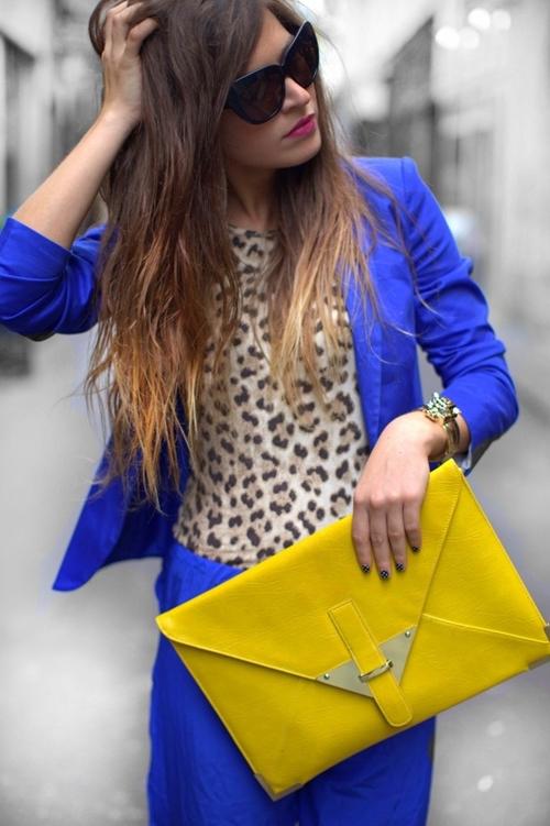 ao vest nữ màu xanh
