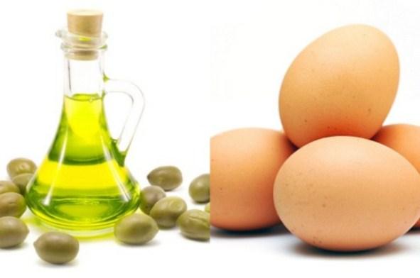 Duỗi tóc tại nhà với trứng gà cực dễ