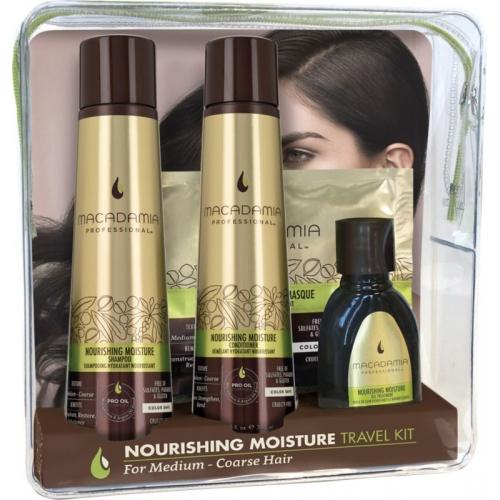 Set 04 sản phẩm Macadamia cho tóc suôn mượt