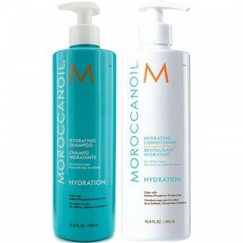 Dầu gội và tinh dầu dưỡng tóc Moroccanoil 02