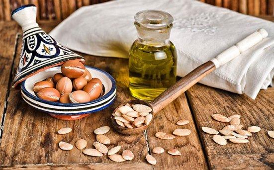 Dầu argan được dùng trong các sản phẩm mỹ phẩm tóc