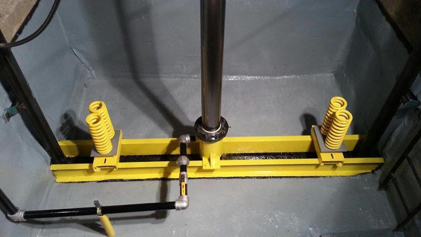 chống thấm pit hố thang máy
