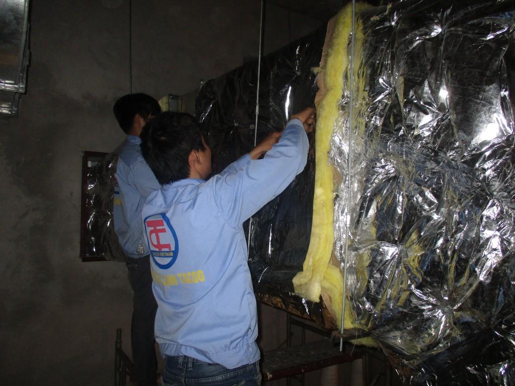 máy lạnh công nghiệp Chiller AEON Mall