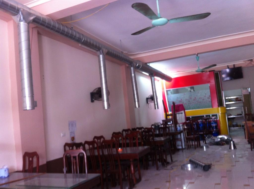 Hệ thống hút khói nhà hàng Hàn Việt