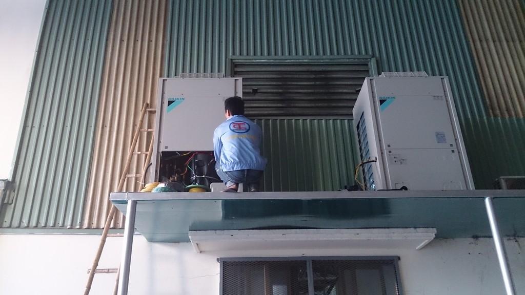 hệ thống làm mát nakami nhà máy shinchi Hải Phòng