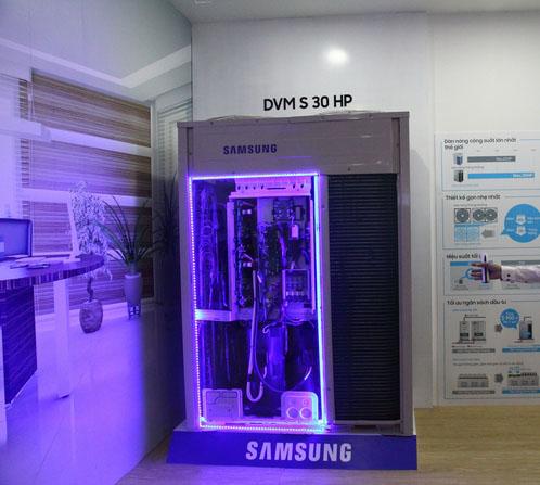 thế hệ dàn nóng mới DVM-S 30HP