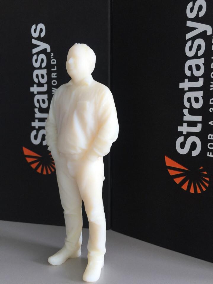 Mẫu in 3D tượng người thật