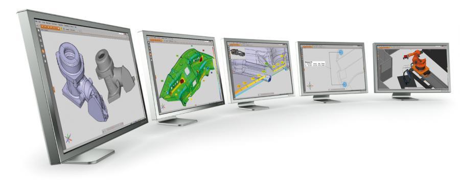 kiểm tra mẫu 3D bằng phần mềm GOM
