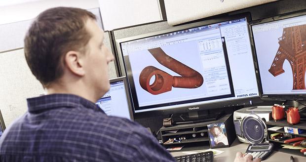 quy trình sử dụng dịch vụ in 3D