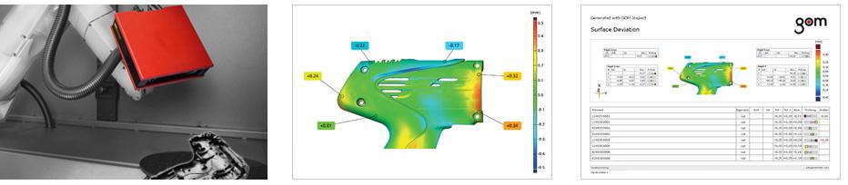 quy trình đo quét mẫu 3D