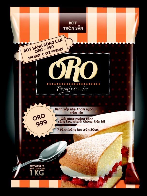 Bột trộn bánh bông lan cao cấp ORO