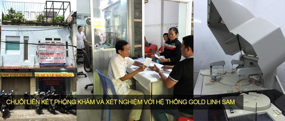 thuong hieu my pham gold linh sam