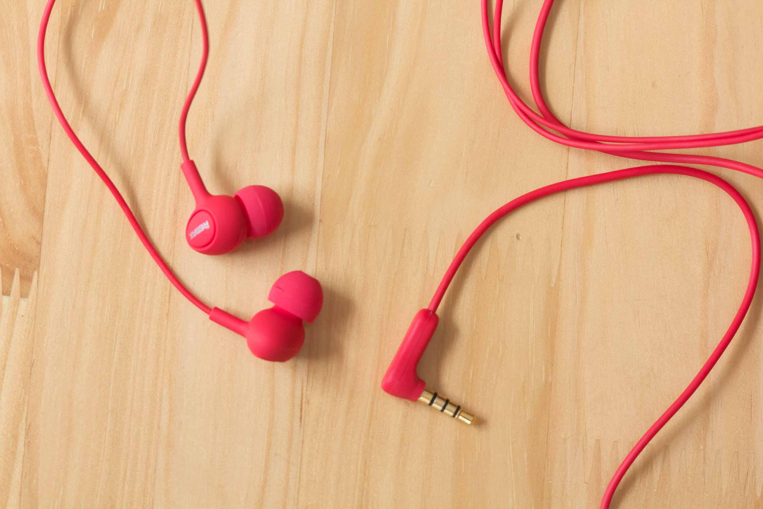 Tai nghe nhét tai Remax RM-515 (Vàng) Cao cấp