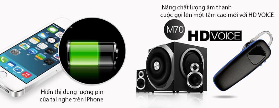 Tai nghe Plantronics M70