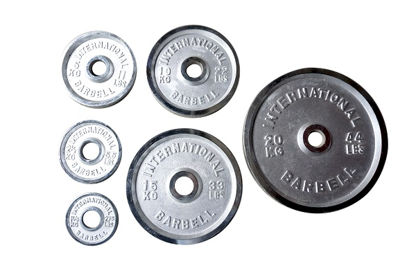Bánh tạ Inoxcó các chỉ số cân nặng gồm: 1.25, 2.5, 5, 10, 15 và 20kg.