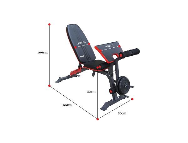 Ghế tập Gym đa năng DDS-1205 là sản phẩm chuyên dụng tập Gym tại nhà
