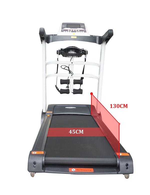 kích thước máy chạy bộ hq 223