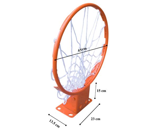 kích thước vành bóng rổ