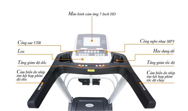 mà hình hiển thị máy chạy hq223