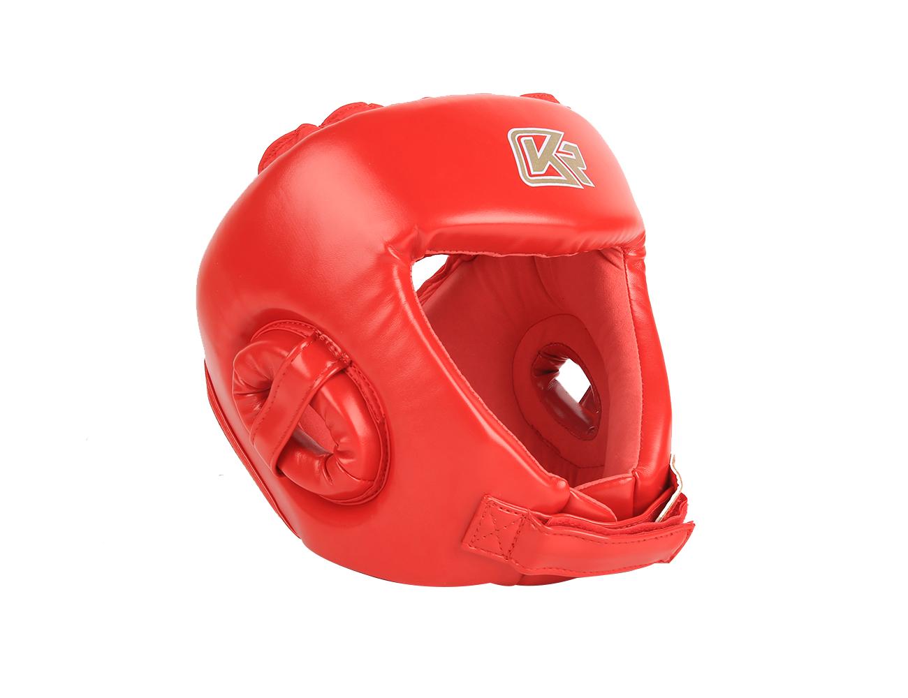 mũ võ thuật Kangrui màu đỏ