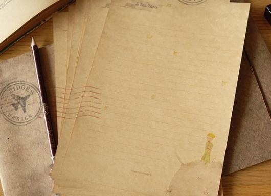 Giấy viết thư cổ điển vintage