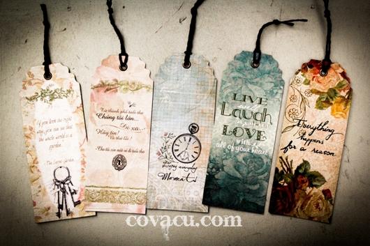 Book mark - Qua tang cho nguoi yeu sach