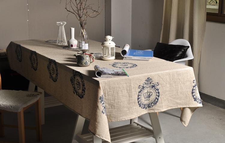 Vải đẹp khăn bàn