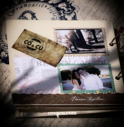 Lưu giữ yêu thương qua Scrapbook