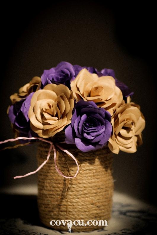 Hoa handmade vintage
