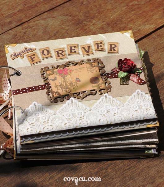 Scrapbook tình yêu ý nghĩa, độc đáo cho các cặp đôi.