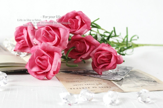 Hoa hồng vintage độc đáo
