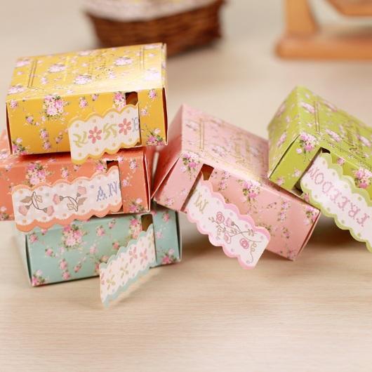 Ren giấy trang trí đồ handmade cute